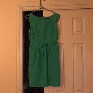 Green J Crew Dress!